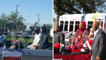 Kendrick Lamar & YG -- Cruisin' Through Compton ... For Xmas Parade