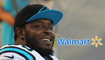 Panthers Charles Johnson -- $30k Walmart Shopping Spree ... For Families In Need