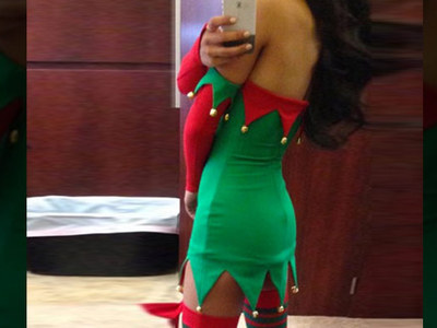 Guess the Sexy Celebrity Elf -- See Santa's Naughty Little Helper