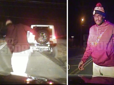 NFL's Justin Blackmon -- Video of DUI Arrest ... Bombs Balance Test (Update)
