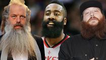 TMZ's Best Beard Moments -- No Santa, No Problem!