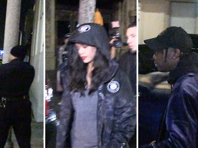 Rihanna -- Caught Up in Shooting at Hollywood Club