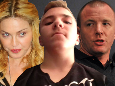 Madonna -- Guy Ritchie Trash Talked Me to Rocco