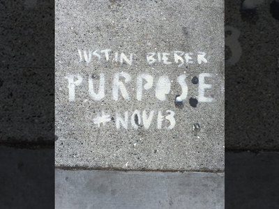 Justin Bieber -- San Francisco Demands Answers ... Who Graffitied Our Town?