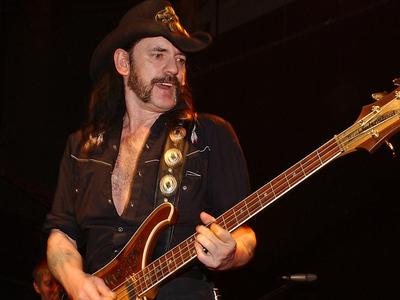 Lemmy -- Motorhead Frontman Dead