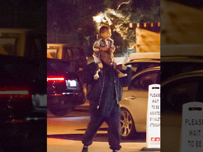 Kanye West -- North Takes a Wild Ride (PHOTO)