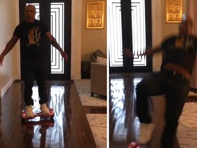 Mike Tyson -- KO'd By CyBoard (VIDEO)