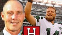 Jets Ryan Fitzpatrick -- He's Still an Elite QB Despite 3 INTs ... Says College Coach