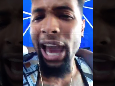 Odell Beckham Jr. -- Yeah, I Can Rap Too! Drops SICK Freestyle at Party (VIDEO)