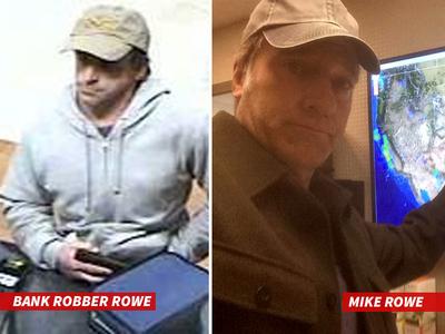 Mike Rowe -- I Didn't Rob That Bank, I Swear