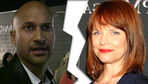Key & Peele's Keegan-Michael Key -- Files for Divorce
