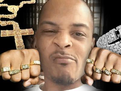 T.I. -- Jewelry Company Sues ... He's a Very Flashy Deadbeat!