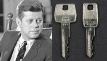 President John F. Kennedy -- Assassination Limo Keys Up For Sale