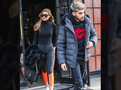 Zayn Malik & Gigi Hadid -- Hot and Cold in NYC