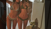 Kylie and Kendall Jenner -- Skin Fleek (PHOTO)