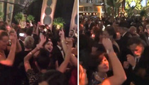 David Bowie -- Dance Party Salute Post Golden Globes (VIDEO)