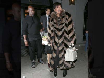Kris Jenner -- I'm Not Done with Corey Gamble ... and the Fur's Real