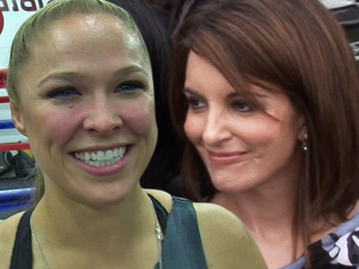 Ronda Rousey -- Inks Movie Deal With Tina Fey ... 'Do Nothing Bitches'