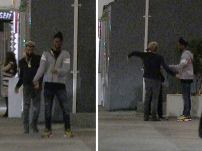 Odell Beckham Jr. -- Dance Off In Front Of Famed L.A. Strip Club
