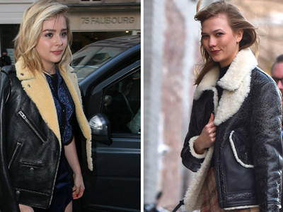 Chloe Moretz vs. Karlie Kloss -- Who'd You Rather?! (Sherpa Fur Edition)