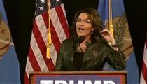 Sarah Palin -- Blames President Obama for Son's Domestic Violence Arrest (VIDEO)