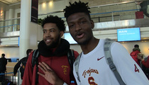 USC Basketball -- Rams Shouldn't Come to L.A. ... They're Gonna Take Our Chicks! (VIDEO)