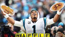 Carolina Panthers -- HUGE WAFFLE HOUSE Breakfast ...