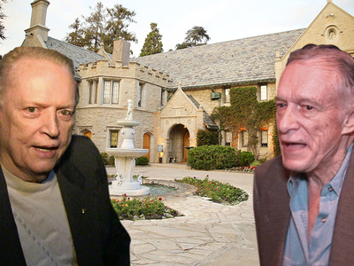Playboy Mansion -- Larry Flynt Tries to Hustle Hef with Lowball Offer