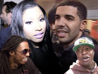 Nicki Minaj, Drake -- No More Taking Sides In Lil Wayne, Birdman Feud