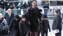 Celine Dion -- Thousands Attend Husband Rene Angelil Funeral