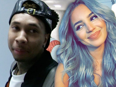 Tyga -- Hanging with Look-alike But Still with Kylie Jenner