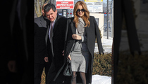 Celine Dion -- Brother's Funeral 1 Day After Husband's