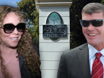Mariah Carey, James Packer -- Shackin' Up in Calabasas