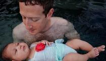 Mark Zuckerberg --  Aqua Baby (PHOTO)