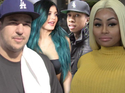 Rob Kardashian -- Blac Chyna's Preying On Him ... Friends Say
