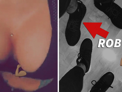 Blac Chyna -- Look How I Keep Rob Kardashian in the Gym (VIDEO)