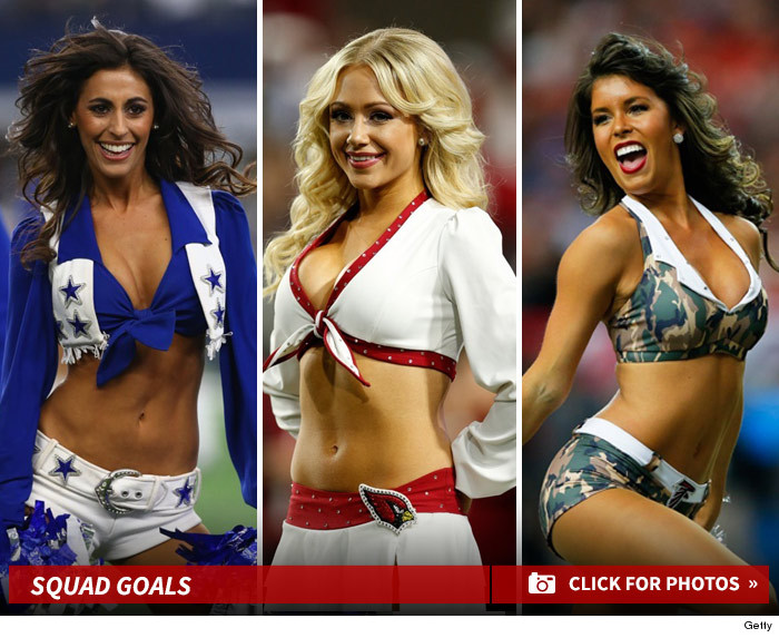 Time having Nfl cheerleaders anal sex for first
