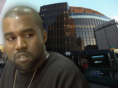 Kanye West -- MSG Concert Page Disappears ... Fans Panic!