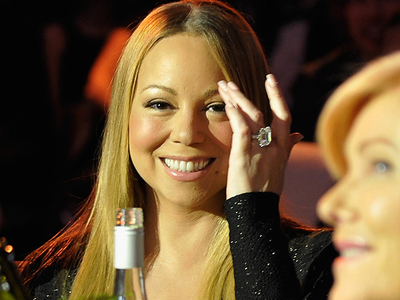Mariah Carey -- Oh, This Little Thing? (PHOTO)