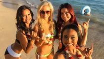NFL Cheerleaders -- Bikini Stuntin' In Hawaii