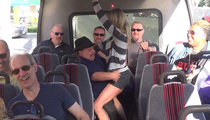 Chuy Bravo -- Crashes TMZ Tour and Gets Freaky!! (VIDEO)