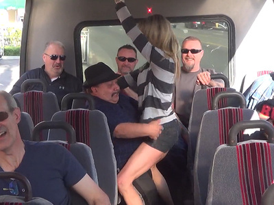 Chuy Bravo -- Crashes TMZ Tour and Gets Freaky!! (VIDEO)
