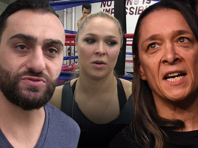 Ronda Rousey's Trainer -- Shrugs Off Mom's Attack ... 'That's Her Opinion'
