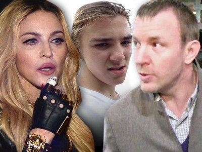 Madonna & Guy Ritchie -- Scolded by Judge in Custody War ... You're Hurting Rocco!