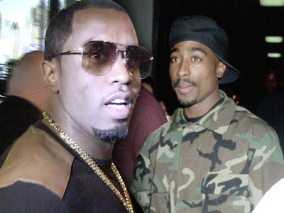 Diddy -- New Story He Killed Tupac ... Sounds Like Old, Bogus Claim