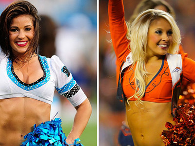 Broncos vs. Panthers Cheerleaders -- Who'd You Rather?!