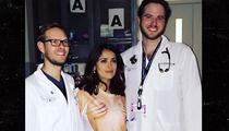 Salma Hayek -- ER Docs and My Boobs Go Hand In Hand