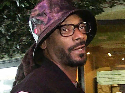 Snoop Dogg -- Uhhh, Cops Say Your Equipment Really Was Jacked!!!