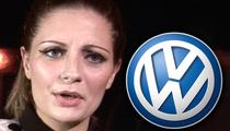 Mischa Barton -- Volkswagen Gunning For Its Car Back