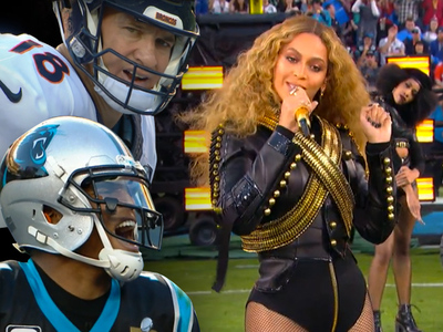 Beyonce -- Sorry Gamblers ... No Cleavage Tonight!